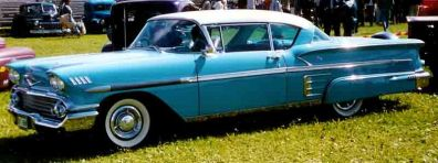 1958 Chevrolet Bel Air sport coupe