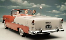 1Chevrolet Bel Air Convertible '1955