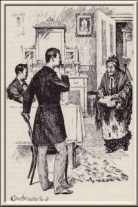 Book illustration by the Canadian artist George Wylie Hutchinson, 1891