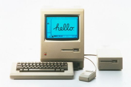 1984 год: Apple Macintosh