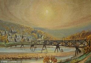 Bannerfield's Bridge, before a great flood
