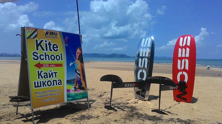 Hydrofoil Lessons in Pattaya