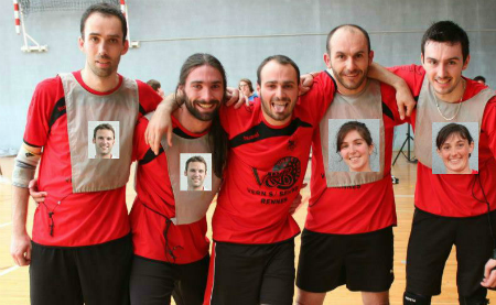 Rennes champion de France de Kin-ball