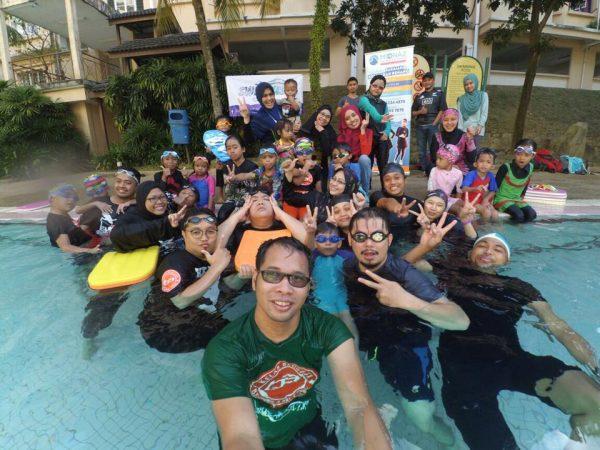 Kelas Belajar Renang KBBA9 Bersama Team Swimrush , Swimming Academy