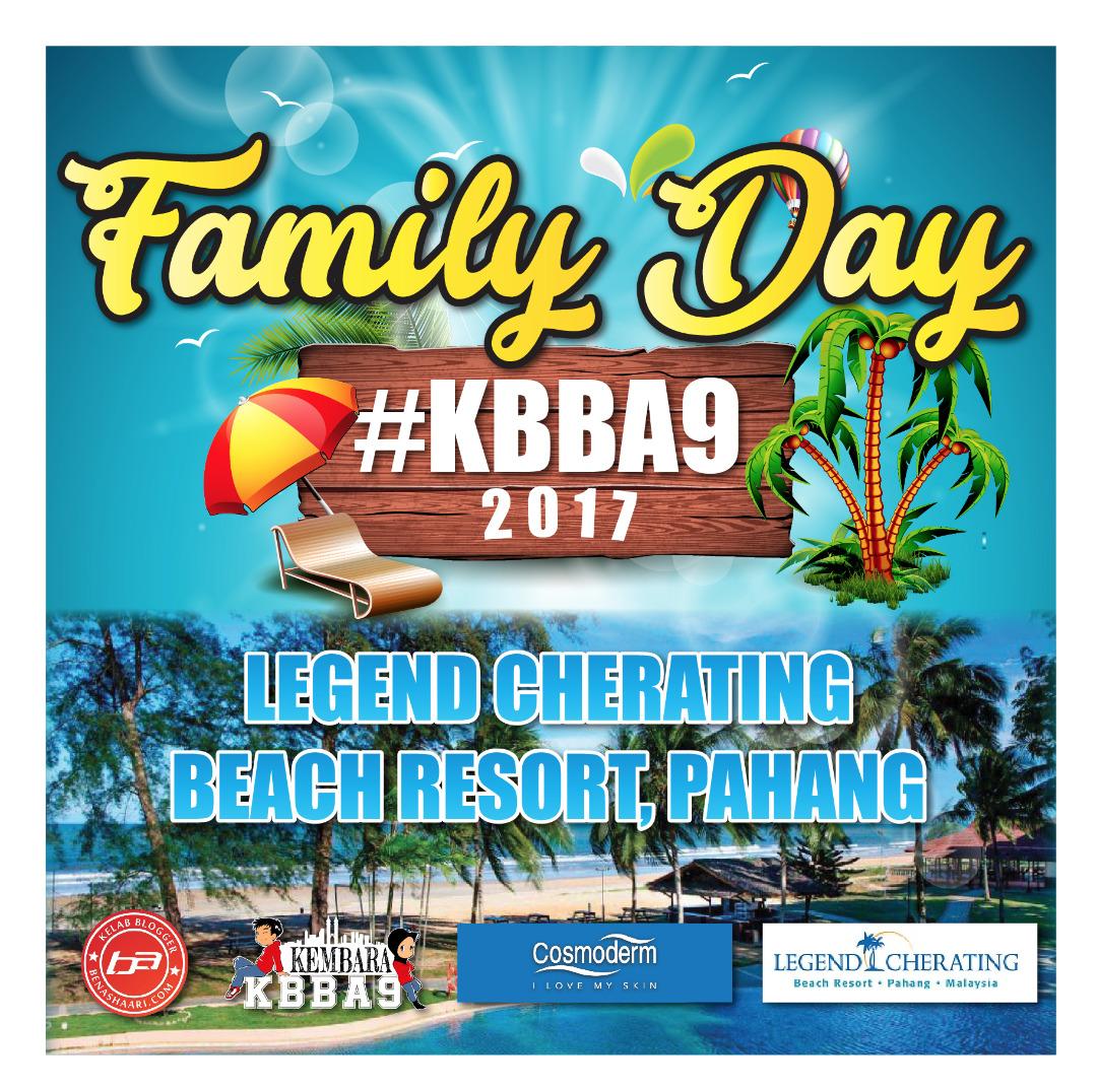 Seronoknya! Family Day Di Legend Cherating, Pahang