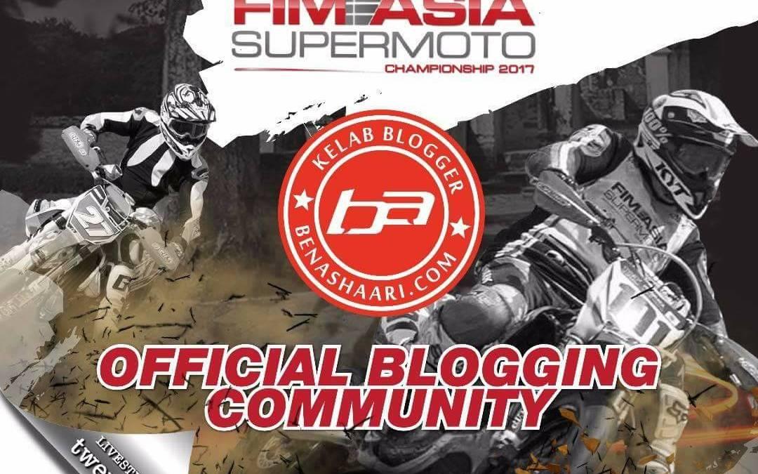 Kelab Blogger Ben Ashaari Dilantik Komuniti Blogger Rasmi Kejohanan Supermoto FIM Asia