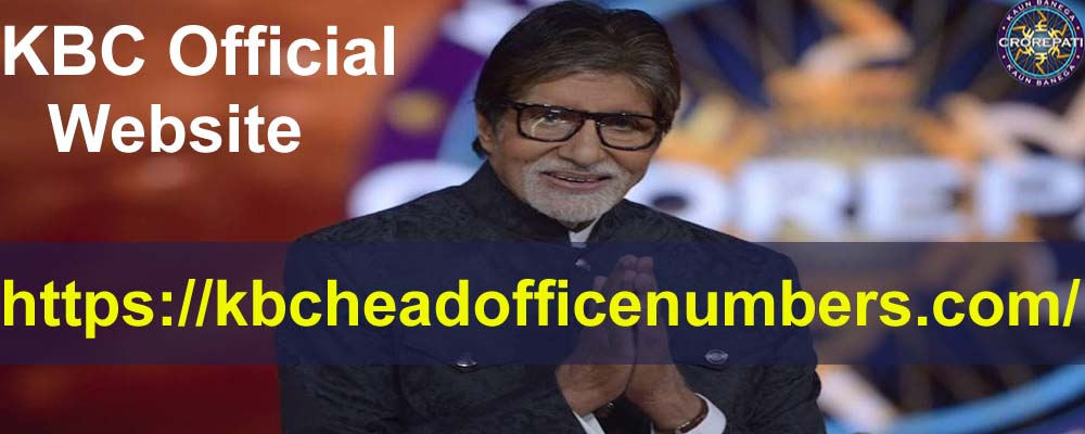 KBC Official Website Contact Number
