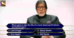 KBC Registration Question 10 english