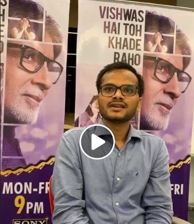 Watch Exclusive FB LIVE we meet our first Crorepati of KBC11