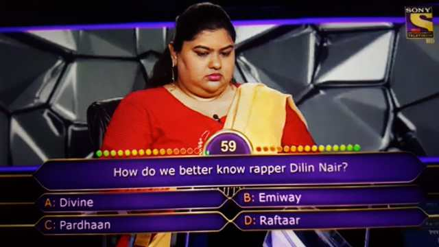 Ques : How do we better know rapper Dilin Nair?