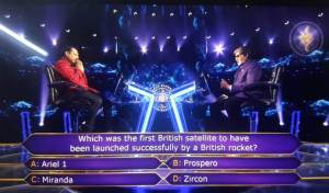 Ques : Which was the first British satellite to have been launched successfully by a British rocket?