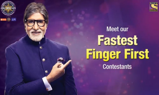 Fastest Finger First contestants of Second week KBC 12