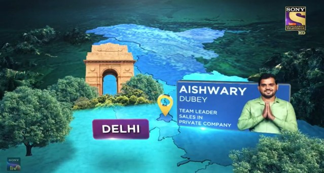 Aishwary Dubey KBC Contestant from Delhi – First Contestant of the week