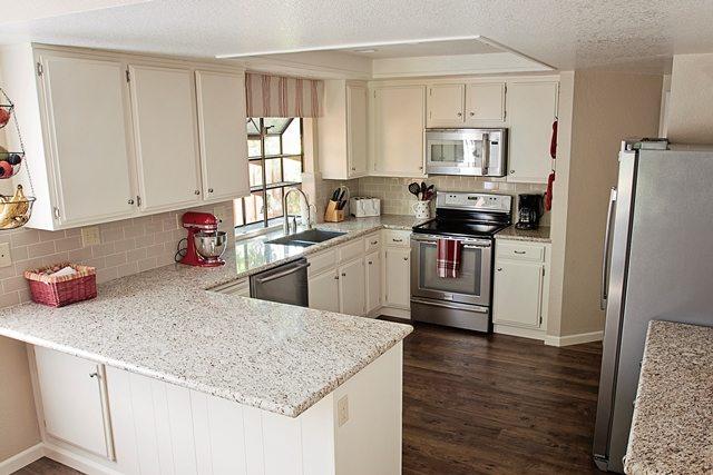 kitchen remodel after.