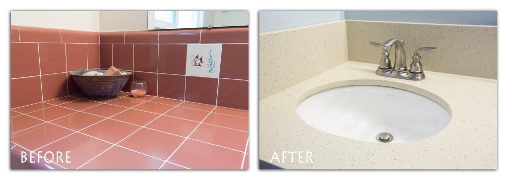 Modesto bathroom remodel.