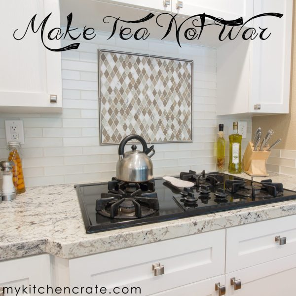 make tea not war.