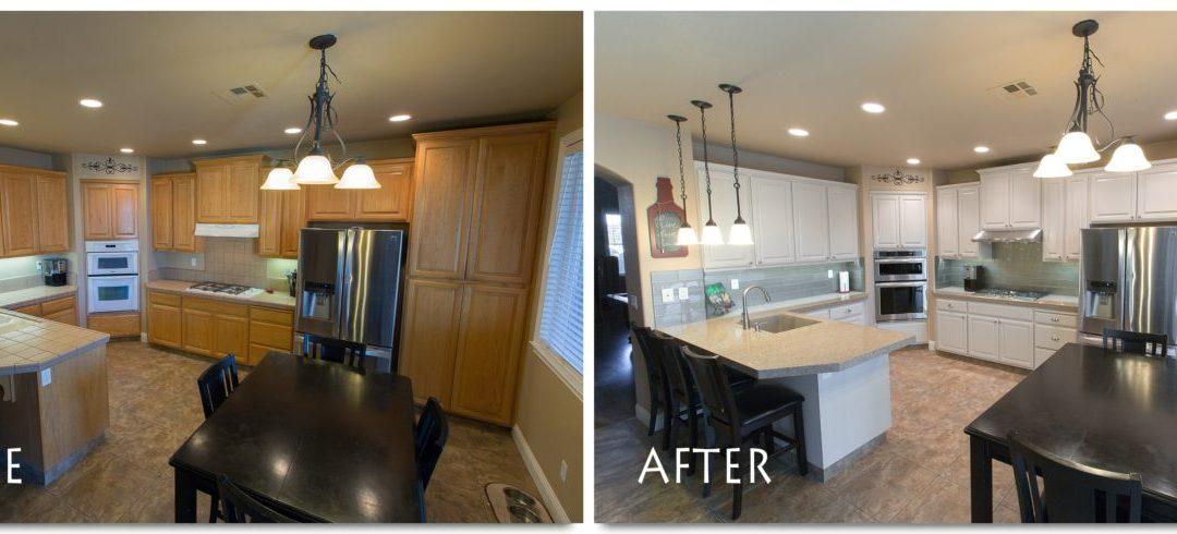 Kitchen Remodel Complete – kitchenCRATE Tagura Drive, Modesto, CA
