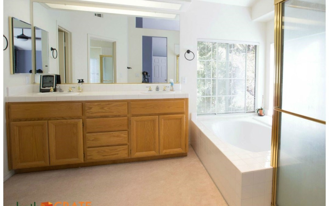 Bathrom Remodel Begins – bathCRATE Windermere Circle in Livermore, CA