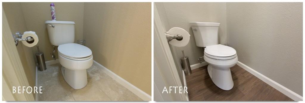 Ripon bathroom remodel.