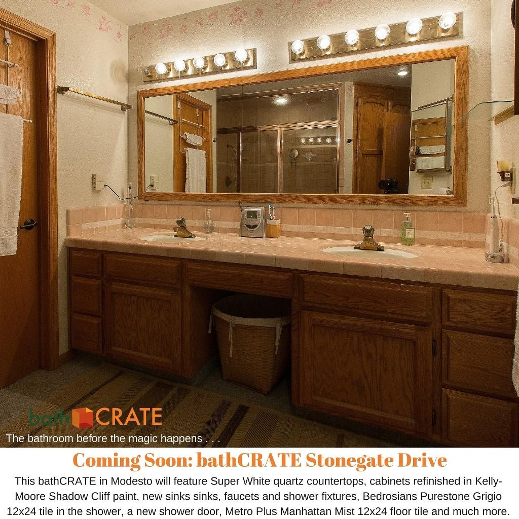 bathroom remodel on Stonegate Drive