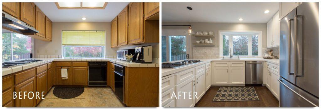 Kitchen renovation in San Ramon.
