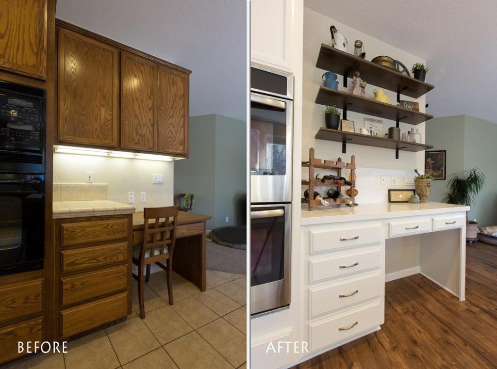 more kitchen storage remodel.