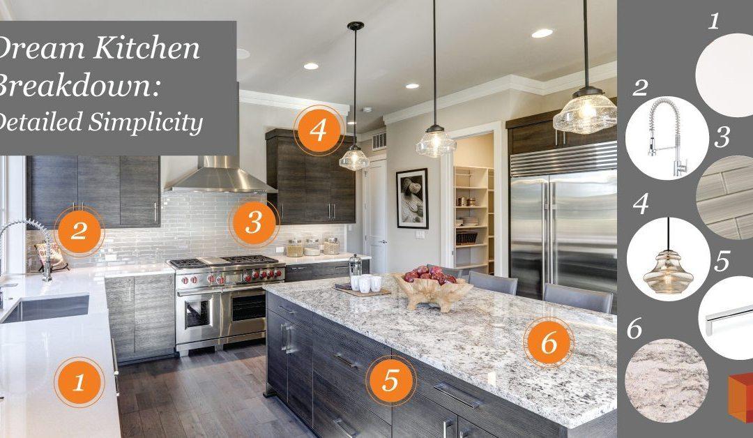 Dream Kitchen Breakdown: Detailed Simplicity
