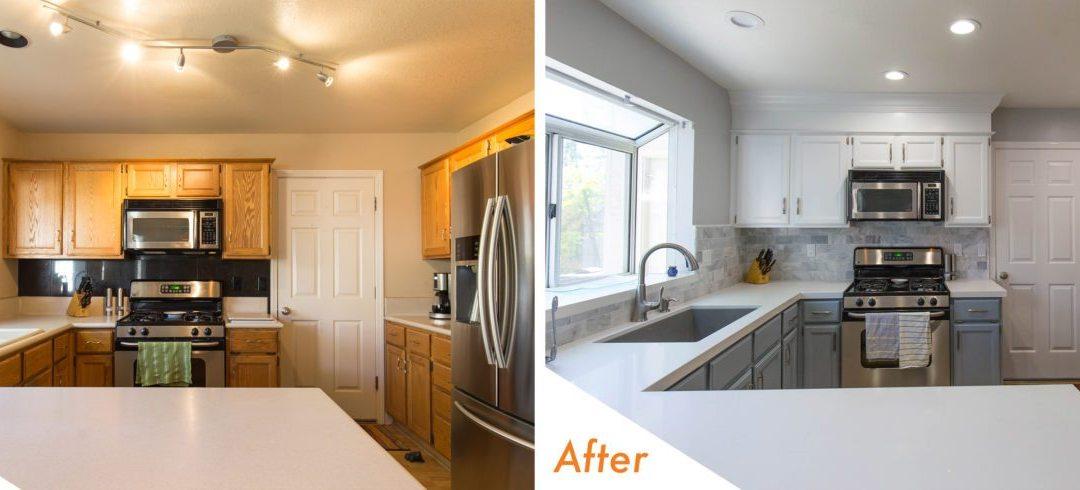 KitchenCRATE Cobblestone Manor in Modesto, CA Complete!