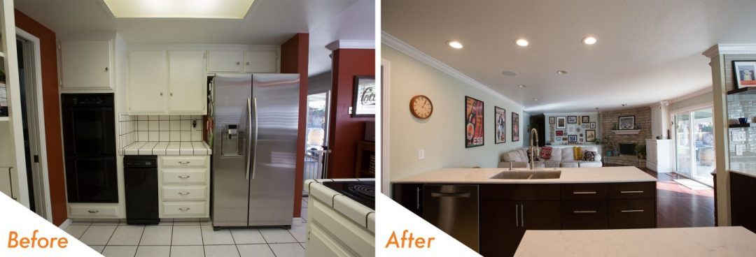 custom kitchen renovations in Modesto.