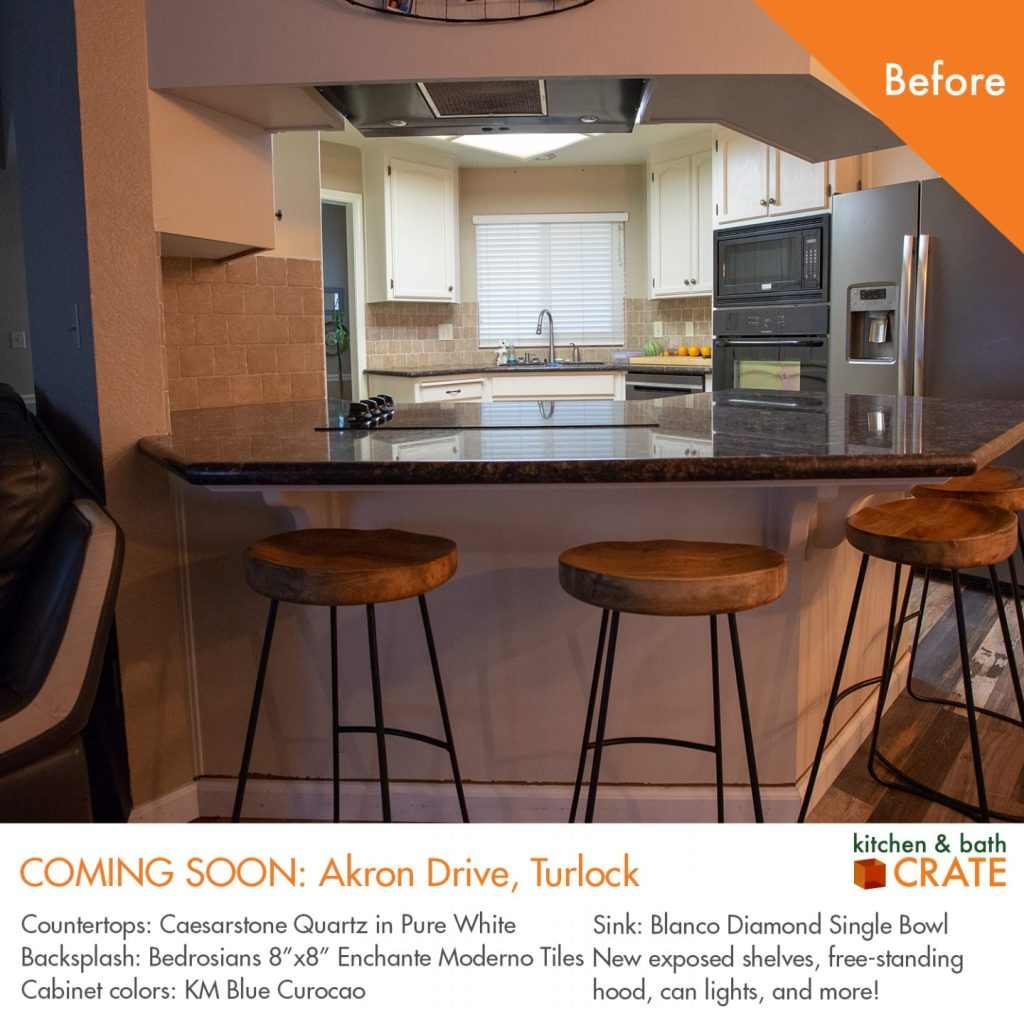 KitchenCRATE Akron Drive Is Underway In Turlock CA Kitchen Bath - Bathroom remodel turlock ca