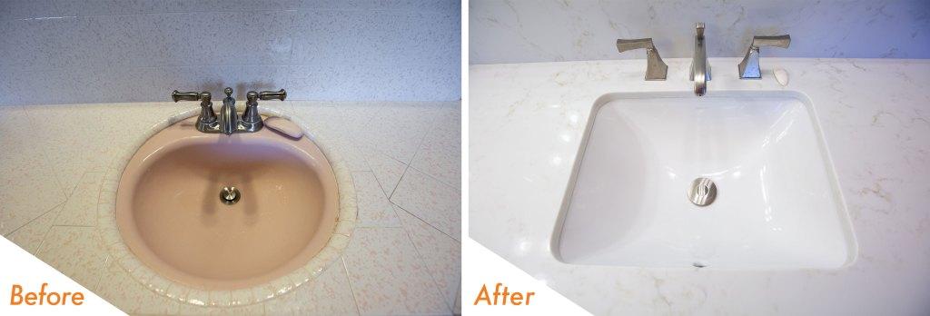 custom vanity sink.