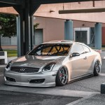 Infiniti G35 2dr Coupe 2003 2007 Nismo Style 1 Piece Polyurethane Front Bumper