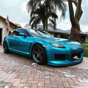 Mazda RX-8, by d_r_x_8