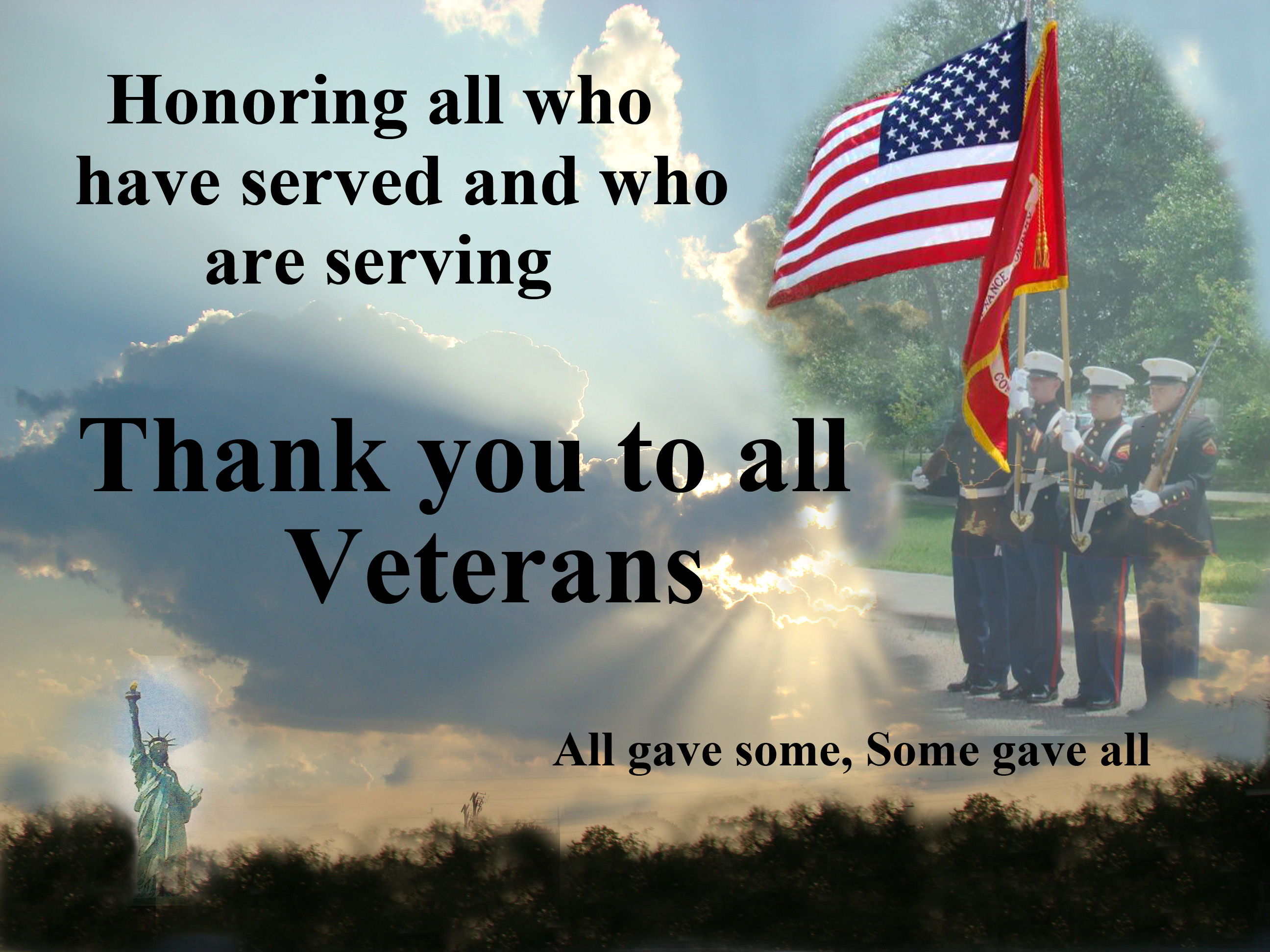 Thank You To All Veterans Kbenservices