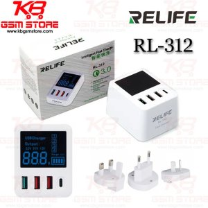 Relife RL-312 Intelligent Fast Charge QC3.0
