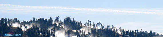 Snowmaking continues at Snow Summit, while Bear Mountain has a 1-2 foot base in time for opening day.