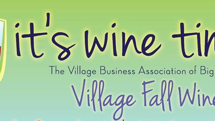 Big Bear Lake Village Business Association Hosts the Village Fall Wine Walk