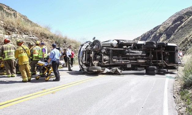 Traffic Collision Resulted in Major Injuries on SR-330