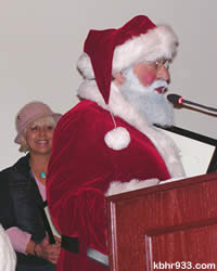 "Sugarloaf resident Joe Vazquez (cheered on by Kat Sawyer) told Council, ""I never dreamed I'd grow up to be Santa. It's a great privilege!"""