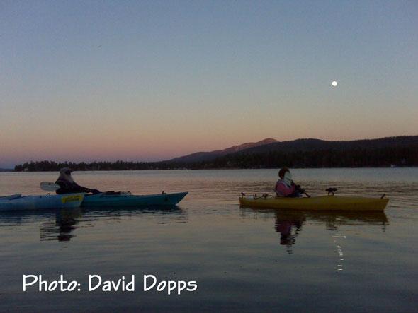 Full Moon Paddle - Photo David Dopps