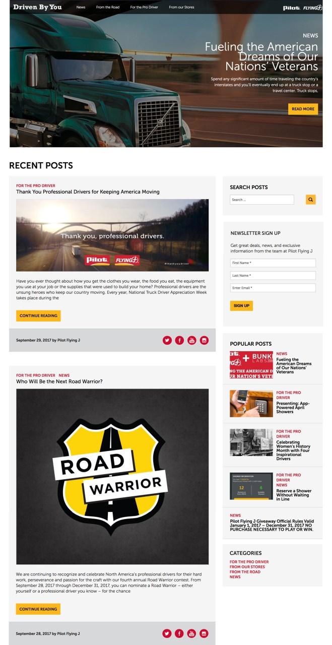 Final Blog Design Concept