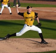 Tiger pitcher Peter Fairbanks gave up two runs to Missouri State in the first inning and only allowed two more inthe seventh inning. Missouri's overall record improves to 15-16 following the 9-4 win over the Bears.