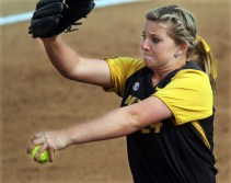 Casey Stangel got the complete-game start, increasing her record to 15-9.