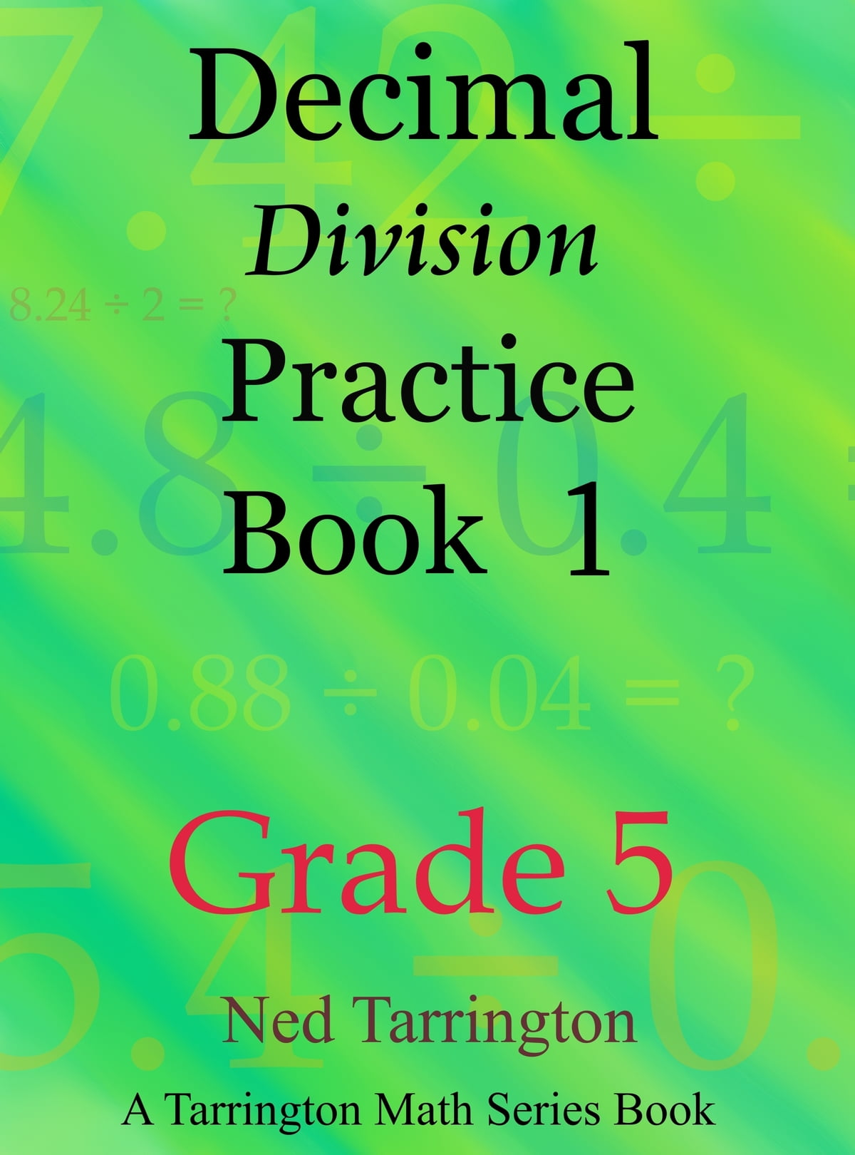 Division Sheets For Grade 5