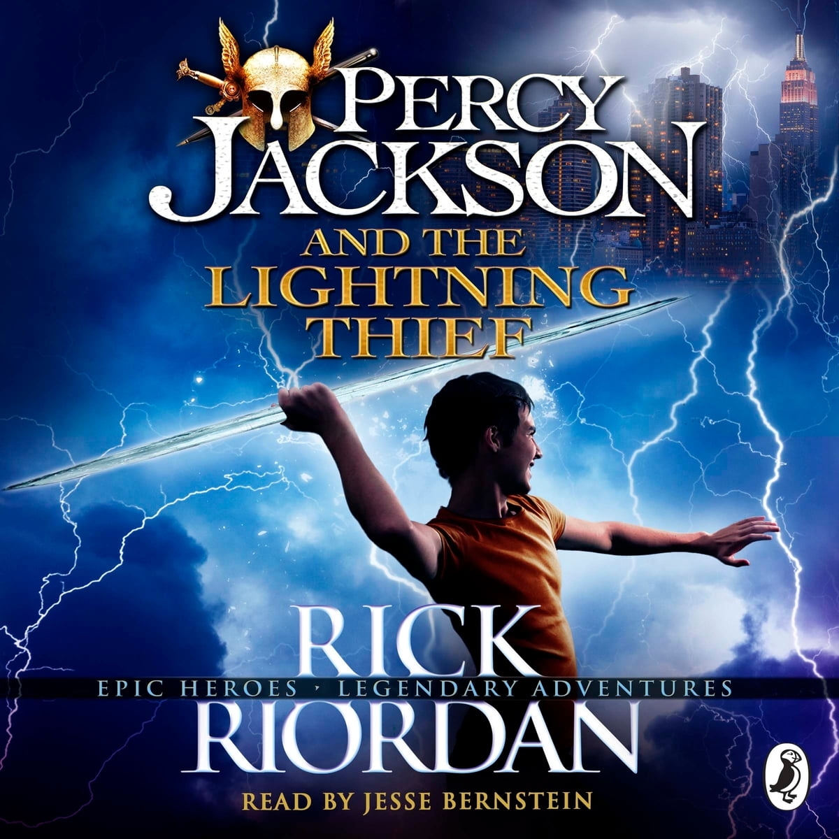 Percy Jackson And The Lightning Thief Audiobook By Rick