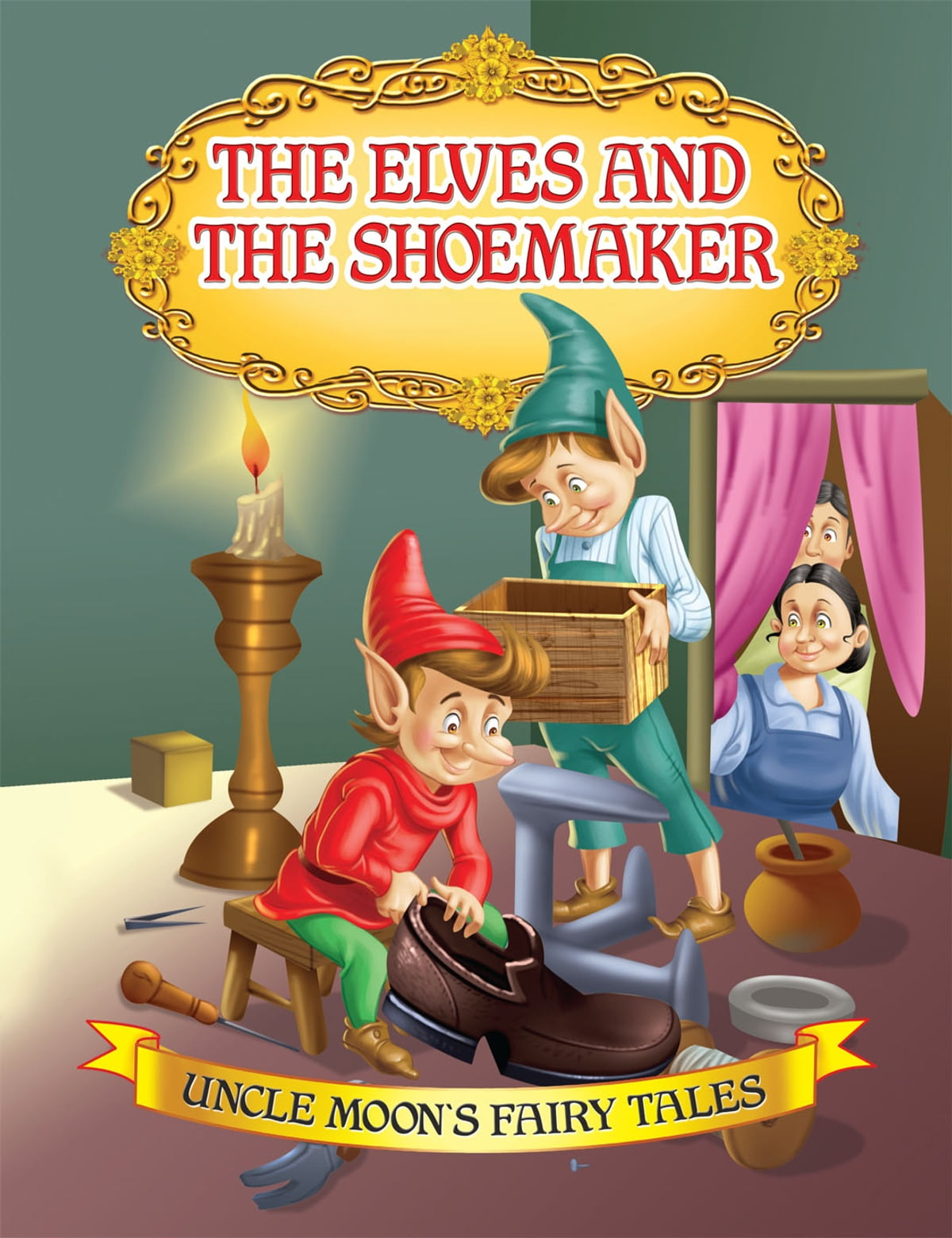 The Elves And The Shoemaker Ebook By Anuj Chawla