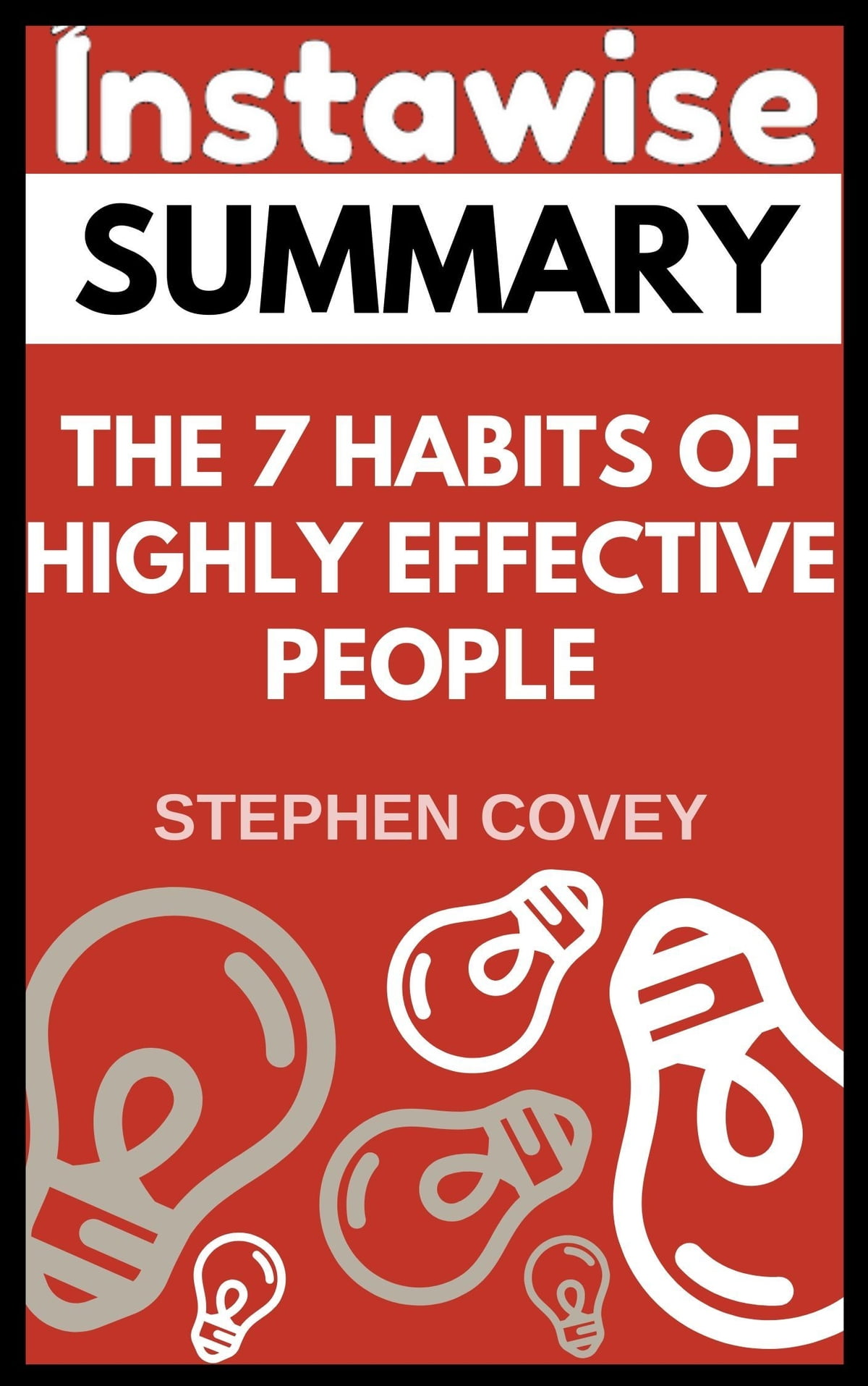 Summary The 7 Habits Of Highly Effective People By