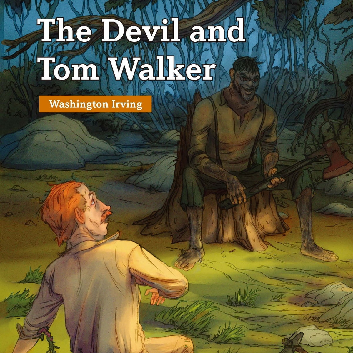 Devil And Tom Walker The Audiobook By Washington Irving