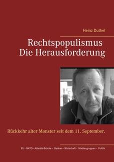 Rechtspopulismus - Die Herausforderung: Rückkehr alter Monster seit dem 11. September.
