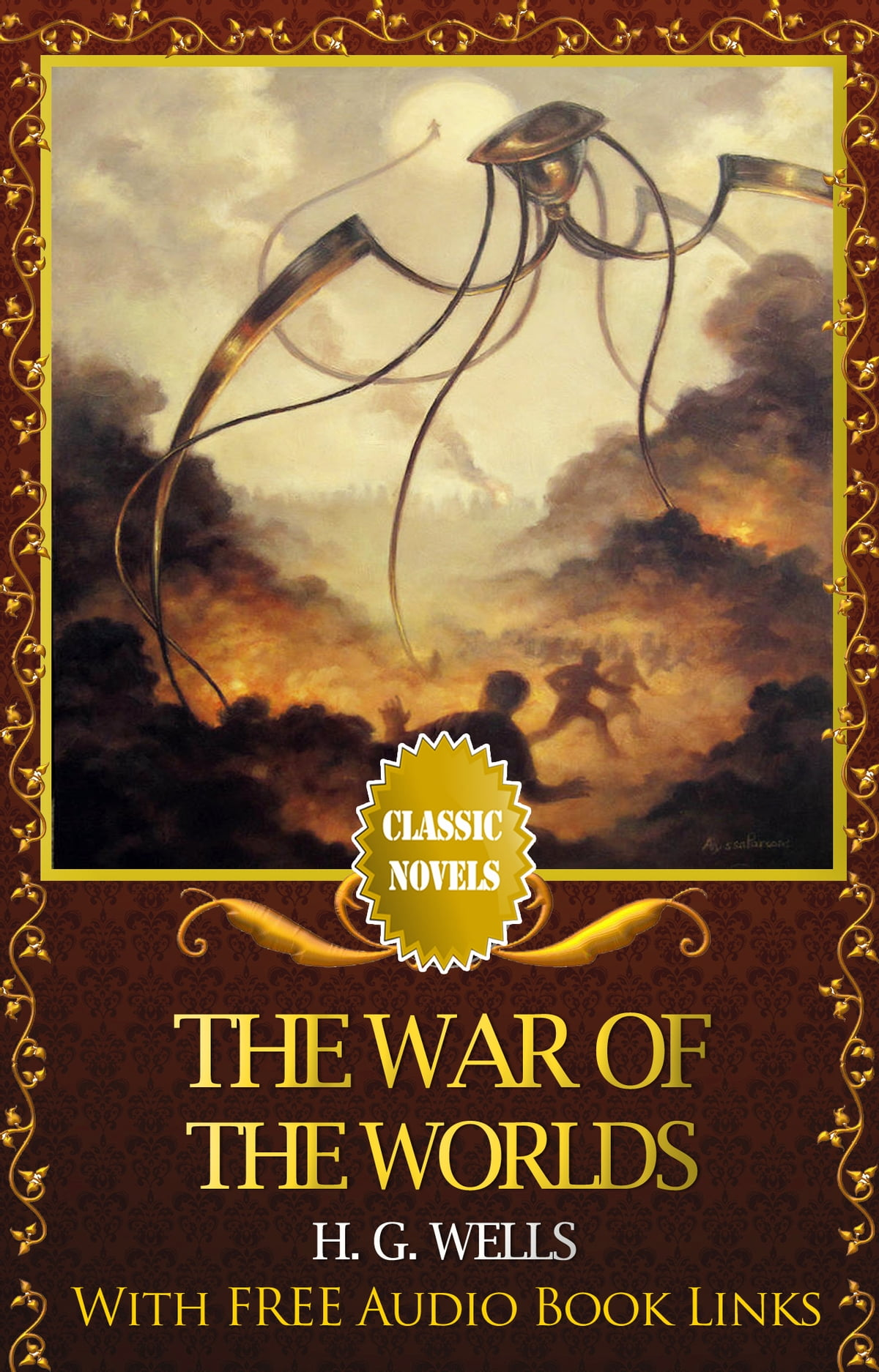 The War Of The Worlds Classic Novels New Illustrated